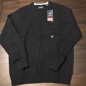 Chaps Cotton Crew Sweater